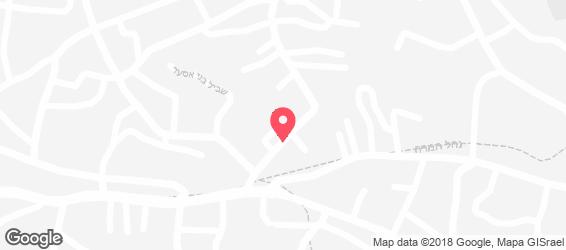 פיצה דומינו - מפה