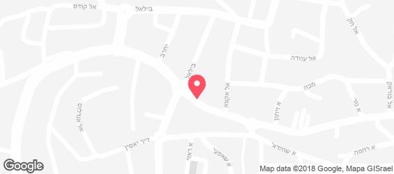 מאפיית אלינור - מפה