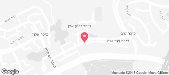 מרכז אשכול - מפה