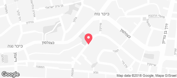 הדס קיטשן - מפה