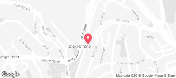 בית ישראל - מפה