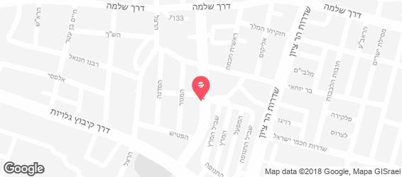 מדהים פלאפל ג'ינה, תל אביב, שוקן 22, אוכל רחוב - Rest TD-76
