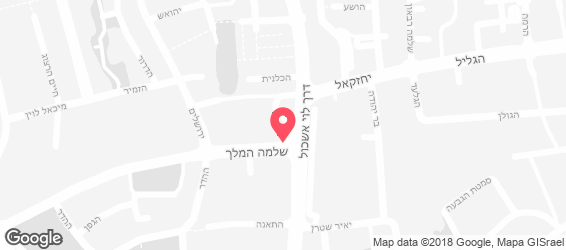 אלוני שווארמה - מפה