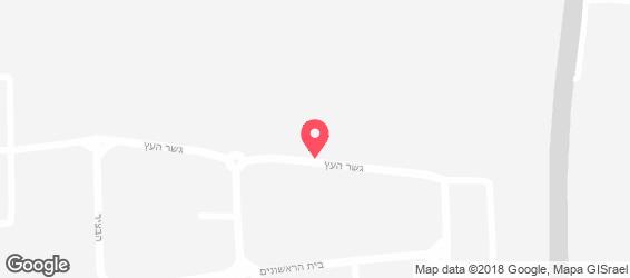 בראף קייטרינג - מפה