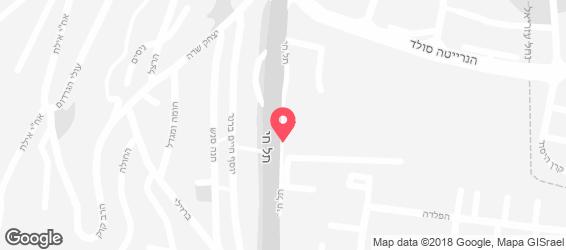 אש בש אסאדו& גריל - מפה