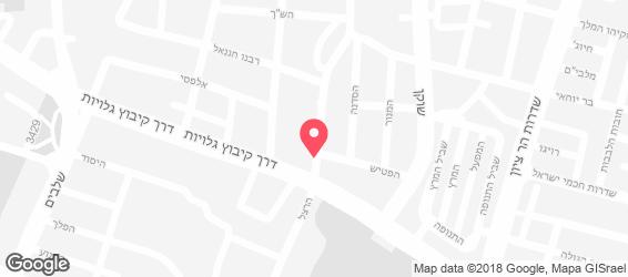 מסעדת שמוליק כהן - מפה