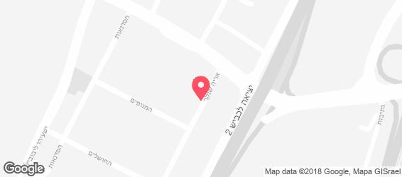 כרמלי'ס בייגל בייקרי - מפה