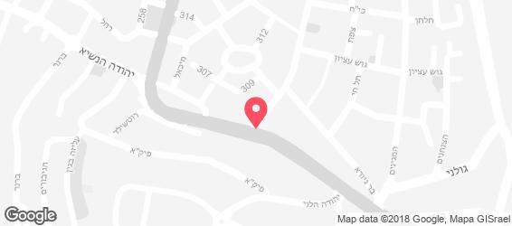 באגט ניר - מפה