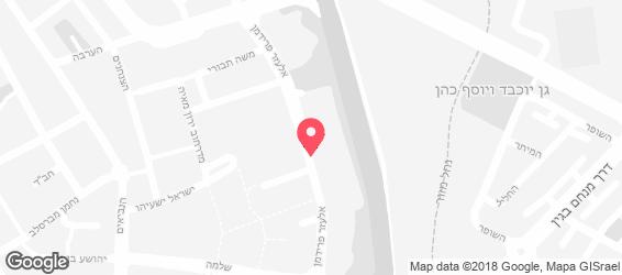 בורגראנץ' קניון סירקין פתח תקווה - מפה