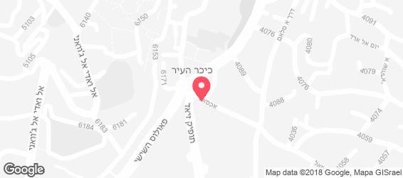 חומוס אל-שייך - מפה