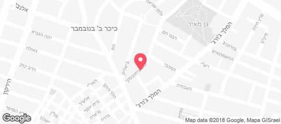 עוף בגריל שמעון - מפה