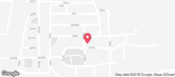 מיקל שרותי קייטרינג - מפה