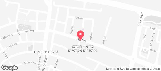 שווארמה רימון - מפה
