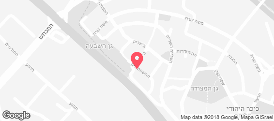 עזרא ובניו אזור - מפה