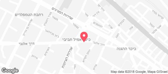 שוארמה אמיל - מפה