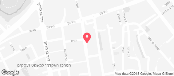 """""""המסעדה היהודית"""" - מפה"""
