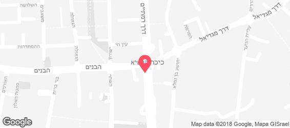 לחם הכפר - מפה