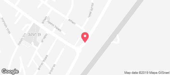 רנה - מפה