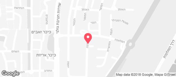 המזנון של ישראל - מפה