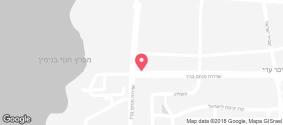 בית חנקין - מפה