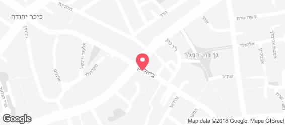 אספרסו בר ביאליק - מפה