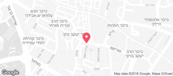 סטקיית ירושלים - מפה