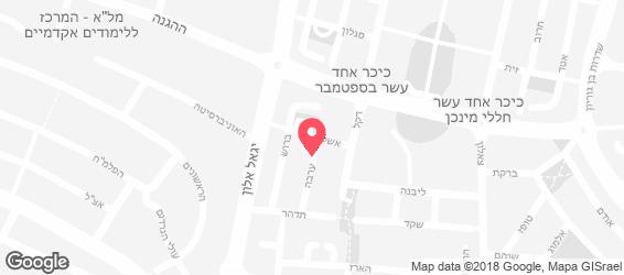 דולצ'ה ויטה - מפה