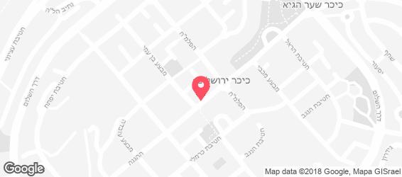 פיצה רבין - מפה