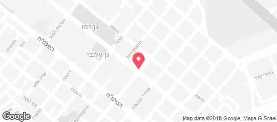 הבגט של אורי כהן - מפה