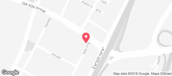 דבלין  - מפה