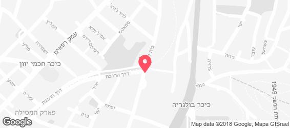 קולוני בית לאירועים - מפה