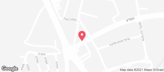 פפרדלה - מפה