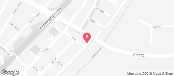 פיצה טומטו - מפה