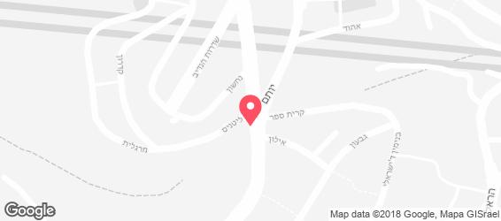 קניבר - מפה