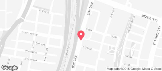 צפרה - מפה