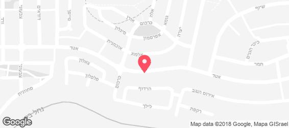 קייטרינג נאני - מפה