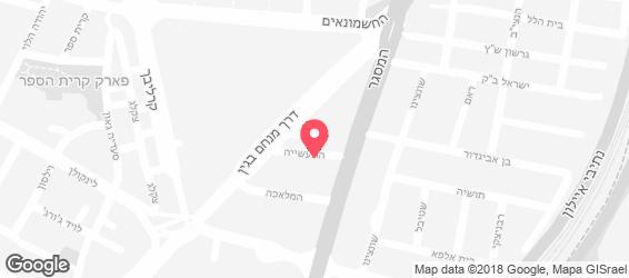 דקא - מפה