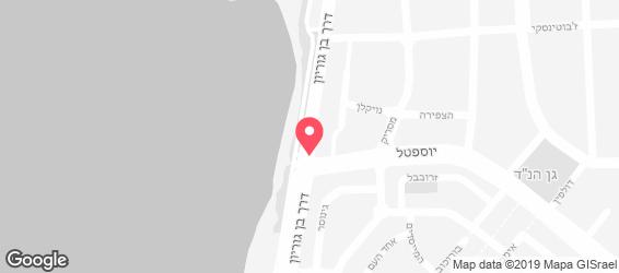 פראג הקטנה - מפה