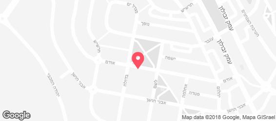 פיצה פצץ - מפה