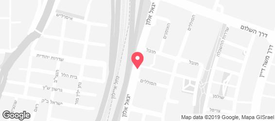 ברנצ'יס - מפה
