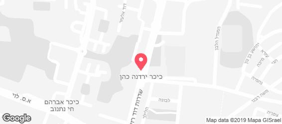 ירושלים - מפה