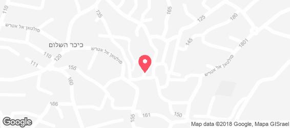 אמיגוס - פיצריות - מפה