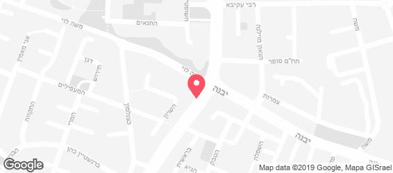 סושי בר בזל  - מפה