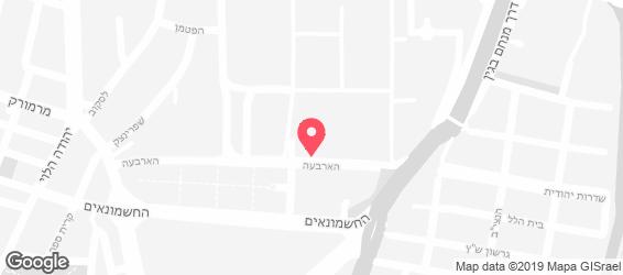 ארקפה - מפה