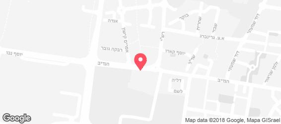 לחם ארז הרצליה - מפה