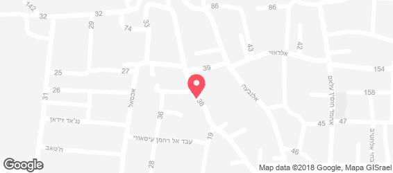 פראדייס - מפה
