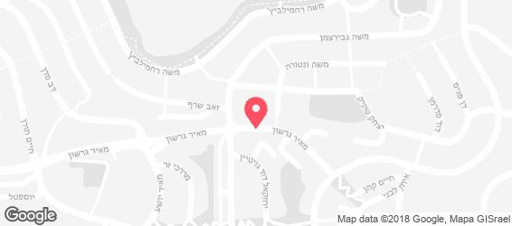ירושלמי אסלי - מפה