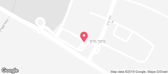 ברוהאוס הגולן  - מפה