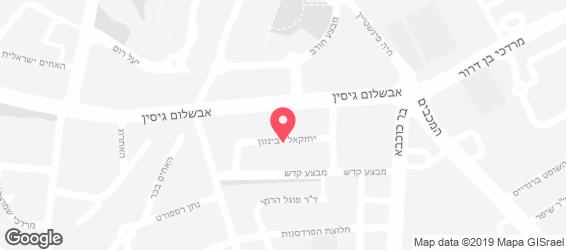מסעדת רובינזון - מפה