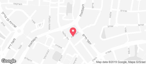 מאפיית סלמן - מפה